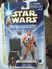 Star Wars A NEW HOPE REBEL Y-WING PILOT GOLD LEADER DUTCH VANDER FIGURE MOC