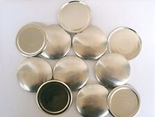 50 Cover Buttons Size 75 (1 7/8 inch) - FLAT BACKS