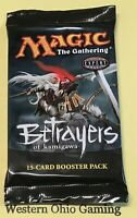 MTG Magic Betrayers of Kamigawa Booster Pack from Box NEW Champions Block