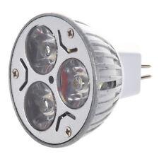MR16 3x1 Watt LED Spot Light Bulb 20W, White, for Track Light, Landscaping G8F3