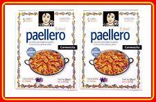 2 PACKETS - PAELLERO / PAELLA Gewürz mit safran aus SPANIEN - CARMENCITA