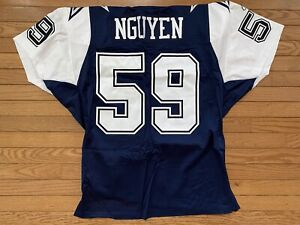 Reebok Authentic Dat Nguyen Dallas Cowboys Thanksgiving Stitched Jersey New Tags