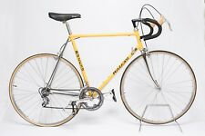 Vintage Spanish Bike Razesa Steel Road Bicycle Yellow Zeus