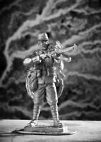 French Private with Bicycle, 1915. Tin toy soldier 54mm