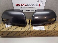 Toyota Tacoma 12-15 Magnetic Gray Outer Mirror Covers w/ TS Set Genuine OEM OE
