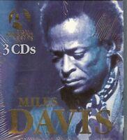 MILES DAVIS  /  3 CD BOX SET - NEW - SEALED
