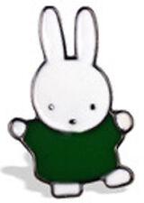 Tiny White Bunny Rabbit Enamel Lapel Pin Badges Birthday Teacher Gift 1pc Miffy