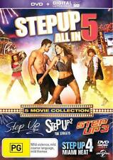 Step Up 1 - 5 : NEW DVD