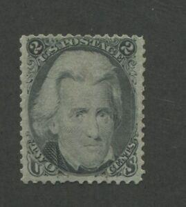 1863 United States Postage Stamp #73 Mint VF Regummed
