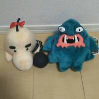 MOTHER 2 Mr. Saturn & Geppu (Master Belch) Plush Doll Set Nintendo Game Rare JP