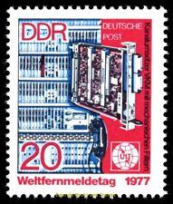 EBS East Germany DDR 1977 World Telecommunication Day Weltfernmeldetag 2223 MNH