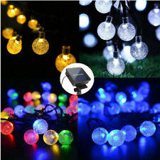 30 LEDs Crystal Ball Waterproof LED String Lights For Outdoor Christmas Wedding