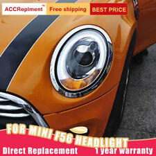 For BMW MINI F56 Headlights Assembly Xenon Lens Projector HID LED DRL 2014-2019