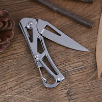 Portable Stainless Steel Foldable Pocket Knife Mini Folding Knife Fruits Cutter