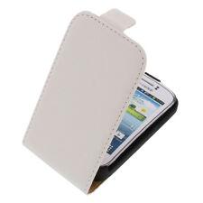 Funda para Samsung Galaxy Joven 2 Estilo Flip de Móvil Protectora Blanco
