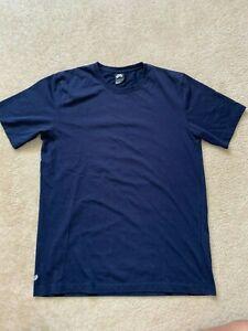 Men's Nike SB Casual Solid  Blue Tee Shirt Medium Sportswear Dunks