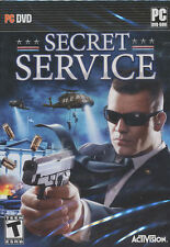 SECRET SERVICE Activision Security Force Shooter PC Game Windows XP & Vista NEW