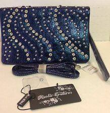 BLING Clutch Cross Body purse 3-N-1 *NWT* ID cards kept safely with style