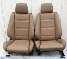 BMW e30 325i 318i Convertible Front Sport Seat Pair 1987-92 in Tan $$1100.00