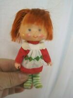 "1979 American Greetings Strawberry Shortcake 5"" Doll B0687"
