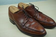 Allen Edmonds Powell Oxford Moc Toe Brown Dress Shoes Sz 7.5 E