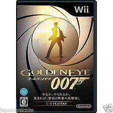 Used Wii Golden eye 007 James Bond   Nintendo JAPAN JP JAPANESE JAPONAIS IMPORT
