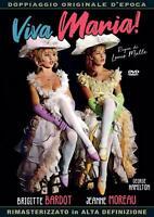Viva Maria ! (1996) Brigitte Bardot DVD *NUOVO* A&R PRODUCTIONS