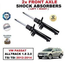 2 x Amortisseurs avant pour VW PASSAT ALLTRACK (365) 1.8 2.0 TSI TDI 2012-2014