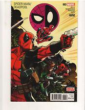 SPIDER-MAN/DEADPOOL #3, 4th PRINT, NM or better, Marvel Comics (August 2016)