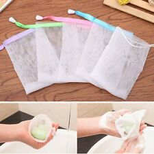 Foaming Wash Storage Drawstring Hanging Bags Frothing Bubble Net Soap Foam