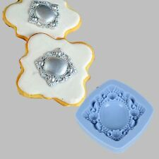 3D Silicone Mold Vintage Brooch Fondant Cup Cake Decor Tool Chocolate Cookie Hot