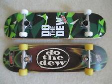 2 Brand New Mountain Dew Skateboards; One is a Santa Cruz w Independent Trucks!