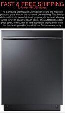 "*FREE SHIPPING* New Samsung 44-Decibel 24"" Black Stainless StormWash Dishwasher"