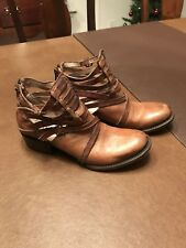 freebird by steven ankle boots size 7 in excellent condition.