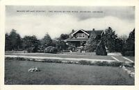 Ashburn Georgia~The House by the Road~Bed & Breakfast~1940s B&W Postcard