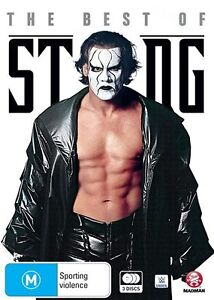 WWE - The Best Of Sting - 3 Disc Set - New & Sealed Region 4 DVD - FREE POST