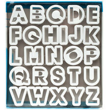 Ateco Alphabet Cutter Set, 1.5""