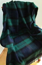 WOOL BLANKET WOOL PLAID COUCH COVER, Ideal as Easter Gift! 200x155cm