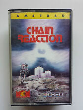 CHAIN REACTION - AMSTRAD CPC 464 CASSETTE / DURELL - MCM SOFTWARE