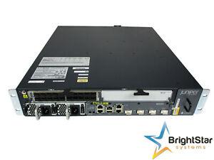 Juniper MX80-AC Router   MIC-3D-20GE-SFP   Dual AC Power Supplies   Fan Tray MX