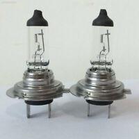 1 Pair 12V H7 55W Xenon White 6000k Halogen Car Head Light Lamp Globes Bulbs