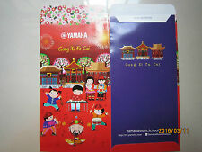 Yamaha Year 2016 Music Fair Chinese New Year Ang Pow/Red Money Packet 2pc