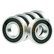 5x 6316-2RS Ball Bearing 80mm x 170mm x 39mm Rubber Seal Premium RS 2RS NEW