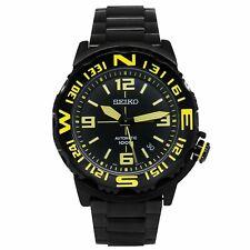 全新現貨SEIKO精工 Superior 自動 SRP449K1 Black Ion-plated Yellow Marker 手錶 HK*1