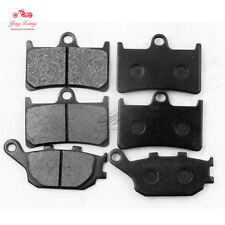 Front+Rear Brake Pads Fit For Yamaha FZ1 Fazer 2006-2012 07 08 09 10 11