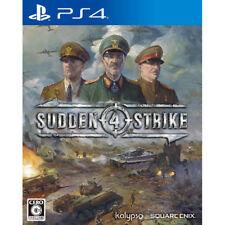Kalypso Sudden Strike 4 SONY PS4 PLAYSTATION 4 JAPANESE Version
