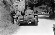 WW2 Photo WWII German StuG  Between Valmontone and Rome 1944  Italy   / 4125