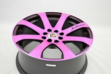 4pcs 17 pink wheels rims Corolla Civic Cobalt Accord Cooper XB Ion 4x100 4x114.3