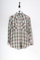 Vintage Levi's Check Shirt Beige (M)