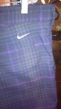 """Mens 40 Black Nike Golf Dri-Fit Flat Front Golf Shorts. Ins 11.5"""""""